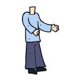 шуточное тело шаржа (шаржи смешивания и спички шуточные или добавляют для того чтобы иметь pho Стоковые Изображения RF
