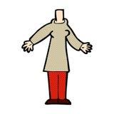 шуточное тело шаржа (шаржи смешивания и спички шуточные или добавляют для того чтобы иметь phot Стоковое Фото