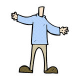 шуточное тело шаржа (шаржи смешивания и спички шуточные или добавляют ваши  Стоковые Изображения RF
