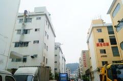 Шэньчжэнь, Китай: Возникновение здания промышленного парка и фабрики Стоковая Фотография