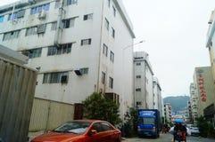 Шэньчжэнь, Китай: Возникновение здания промышленного парка и фабрики Стоковое Изображение RF