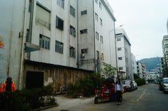 Шэньчжэнь, Китай: Возникновение здания промышленного парка и фабрики Стоковое Изображение