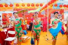 Шэньчжэнь, Китай: женские актеры Стоковая Фотография RF