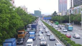 Шэньчжэнь, Китай: Ландшафт автомобиля дороги соотечественника 107 Стоковые Изображения RF