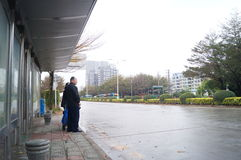 Шэньчжэнь, фарфор: городской транспорт Стоковая Фотография
