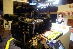 Шэньчжэнь, фарфор: деятельности при опыта камеры канона Стоковое Фото