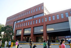 Шэньчжэнь, фарфор: промышленные здания Стоковые Изображения RF
