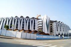Шэньчжэнь, фарфор: промышленные здания Стоковые Изображения