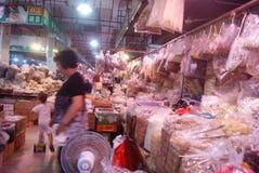 Шэньчжэнь, фарфор: рынок фермеров Стоковое Изображение RF