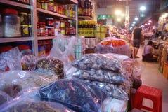 Шэньчжэнь, фарфор: рынок фермеров Стоковая Фотография