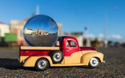 Шланга суда Foxton шарик старого стеклянный Стоковое Изображение RF