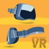 Шлемофон виртуальной реальности Стоковое фото RF