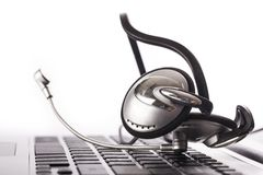 шлемофон Стоковые Изображения RF