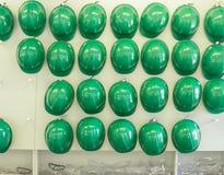 Шлемы и изумлённые взгляды безопасности Стоковые Изображения RF
