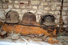 Шлемы 1571 Стоковые Фотографии RF