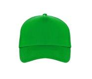шлем бейсбола зеленый Стоковая Фотография