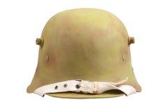 Шлем войск Stahlhelm Первая мировой войны Стоковое Изображение