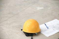 Шлем и плановик Стоковое Изображение RF