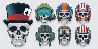 Шлем и Headwear Стоковая Фотография