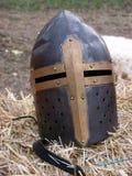 Шлем крестоносца Стоковые Изображения