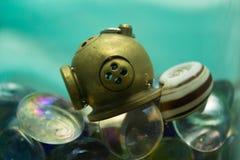 Шлем пикирования Стоковое Фото
