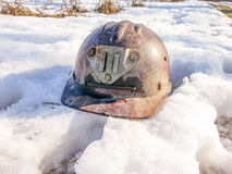 шлем промышленный Стоковое Изображение RF