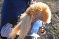 шлем римский Стоковая Фотография RF