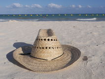 Шлем сторновки на пляже Стоковое фото RF