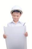 шлем строителя немногая сь Стоковое Изображение