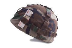 Шлем с карточкой Стоковые Фото