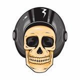 Шлем черепа Стоковое Фото