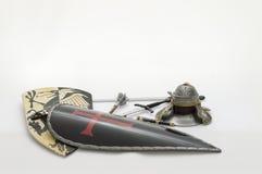 Шлем шпаги панцыря Стоковая Фотография RF