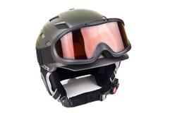 Шлем лыжи Стоковые Изображения RF