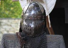 Шлем knigth Стоковые Изображения RF