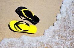 Шлепок пляжа Стоковые Фото