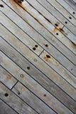 Шлюпка деревянный flor Grunge Стоковая Фотография