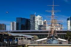 Шлюпка Мельбурна Polly Woodside Стоковая Фотография