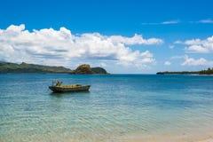 Шлюпка на Южной части Тихого океана Стоковая Фотография RF