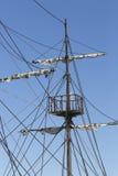 Шлюпка пирата Стоковое фото RF