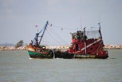 Шлюпка рыболова, Стоковая Фотография RF