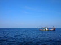 Шлюпка рыболова Стоковое Изображение RF