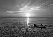 Шлюпка рыболова Стоковое Изображение