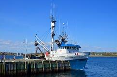 Шлюпка рыболова Стоковые Фотографии RF