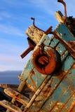 шлюпка старая Стоковое Изображение RF
