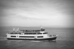 Шлюпка Alcatraz, Сан-Франциско Стоковая Фотография RF