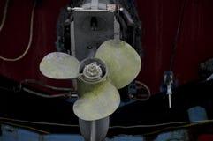 Шлюпка propellar Стоковая Фотография