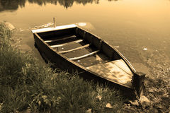 Шлюпка Velho Barco_Old Стоковые Фотографии RF