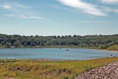 Шлюпки в воде Стоковое Фото