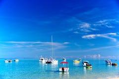 Шлюпки в Маврикии Стоковая Фотография RF