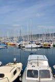 Шлюпки в порте Триесте стоковое изображение